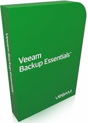 Veeam Backup Essentials Enterprise Plus licensed by VM 1 Year Subscription Upfront Billing License & Production (24/7) Support (придбання)