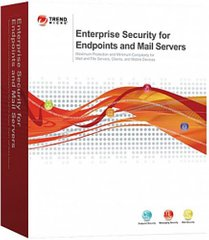 Trend Micro Enterprise Security for Endpoints and Mail Servers, 12 mths, 26-50 license