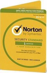 NORTON SECURITY STANDARD 3.0 PL 1 USER 1 DEVICE 36MO SPECIAL DRM KEY FTP ESD