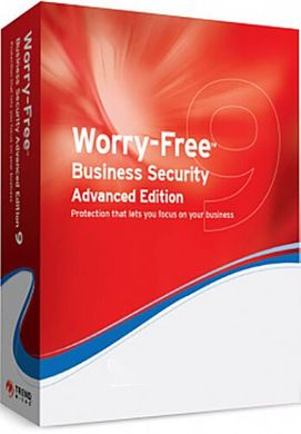 Trend Micro Worry-Free Business Security Advanced, 12 mths