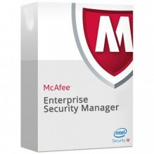 McAfee Enterprise Security Manager, Enterprise Log Manager and Event Receiver VM (up to 8 cores), Perpetual License with 1yr McAfee Business Software Support
