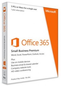 Microsoft Office 365 Business (OLP; подписка на 1 год)