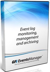 GFI EventsManager Plus Edition - including 1 year SMA, 10 nodes Complete and 150 nodes Active Monitoring